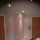 Wardrobes with sprayed doors and matching cornice(Blackheath)