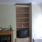 Alcove unit with panel moulded doors client is to paint the units (Epping Forest)