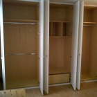 The inside of the wardrobe opposite (Blackheath)