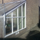 A replacement side section to a conservatory (Eltham)