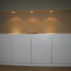 A low level modern unit fitted into an alcove (Blackheath)