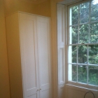 Shaker style wardrobe to match window shutters (Waterloo)