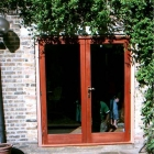 Fully fitted hardwood French doors (Fulham)